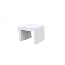 Banco Alternativo 1  Betão Branco  50x50x45
