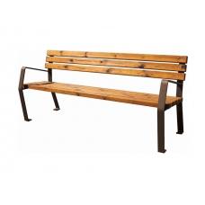 Cadeira Coletiva 2A - Corten